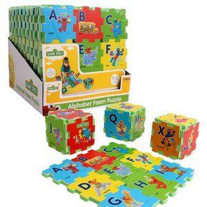 Mini 27pcs Sesame Alphabet floor puzzle for infant